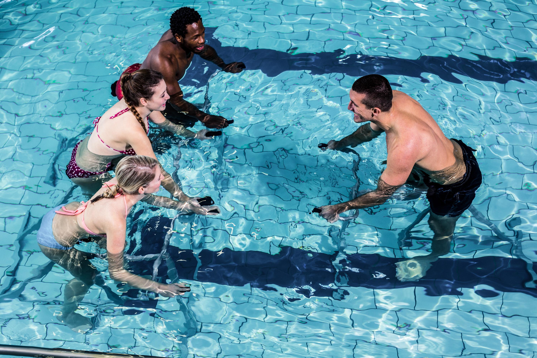 Une Nouvelle Activite A La Piscine L Aquabike Ville De Mons En