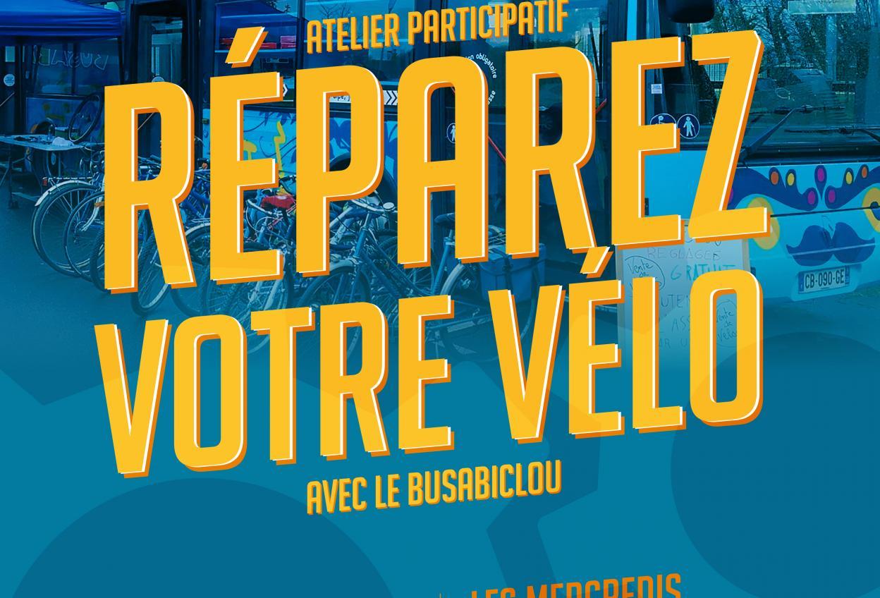 Busabiclou // Réparez votre vélo