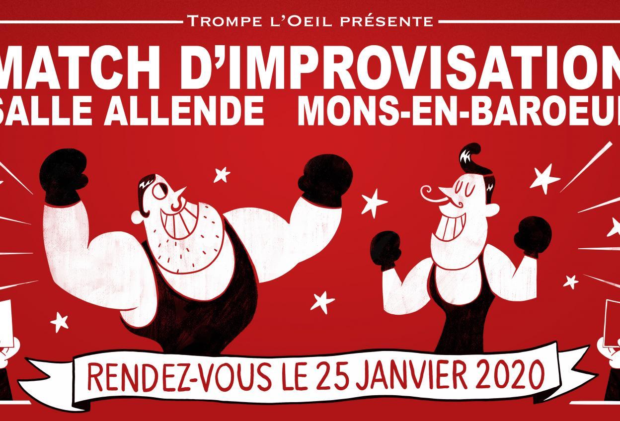 Match d'Improvisation - France vs Suisse